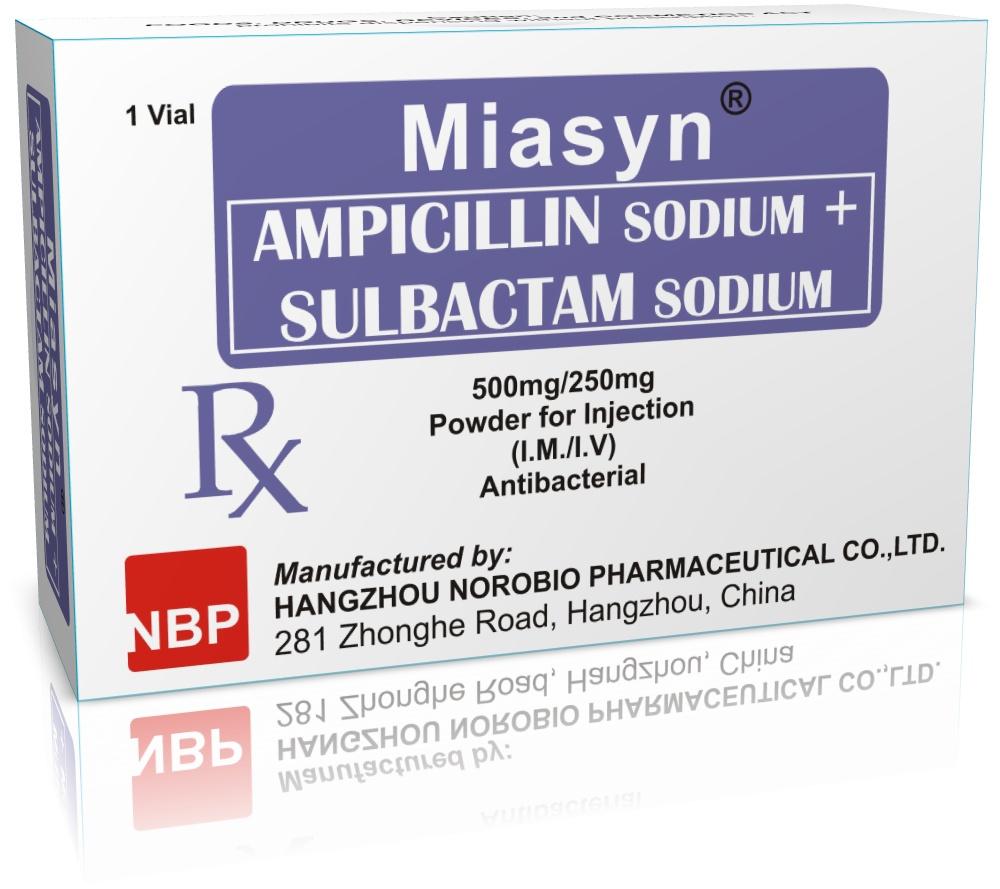 Ampicillin Sodium Sulbactam Sodium
