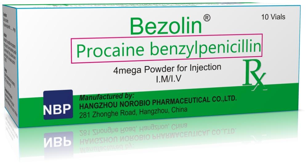 прокаин бензилпенициллин